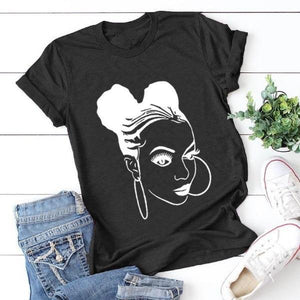 Braids & Hoops T Shirt