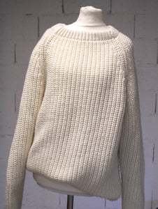 Pull à grosse maille années 70