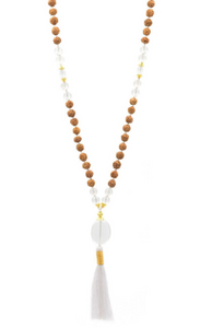 AUM RUDRASHKA- The Crown Chakra For Him Mala