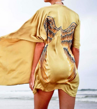 Load image into Gallery viewer, Warriors of the divine- archangel gabriel golden goddess