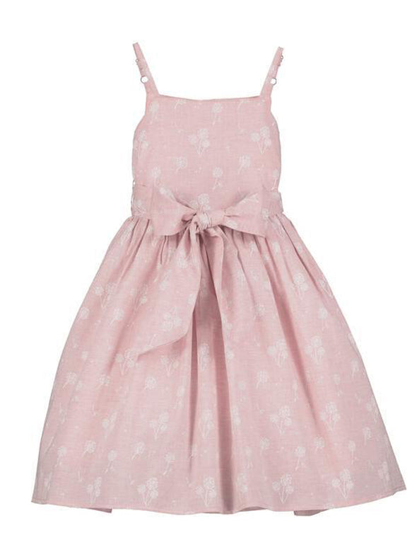 Jennie Dress - Pink Dandelion