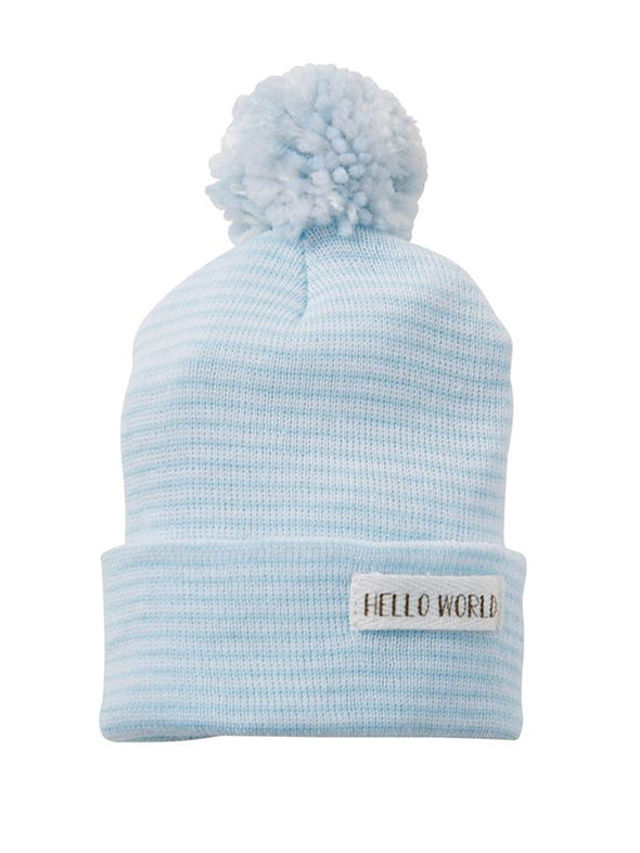 Mud Pie Hello World Pom Hat
