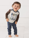 Mud Pie Boys Will Be Boys Two Piece Set