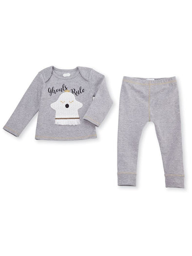Mud Pie Ghouls Rule Two Piece Set