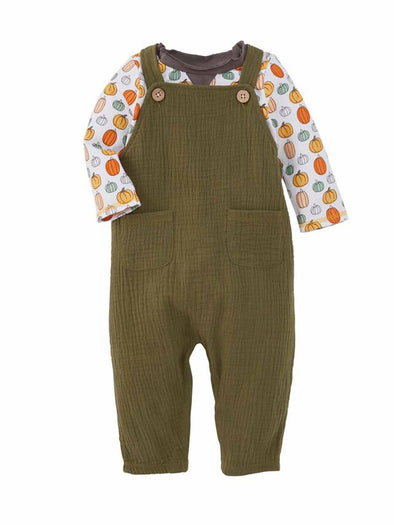 Mud Pie Olive Jumper with Tee