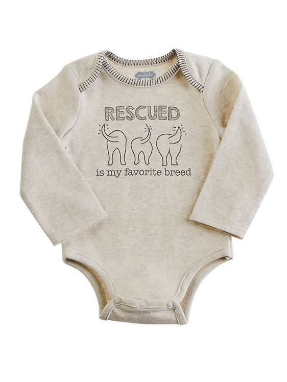 Mud Pie Rescued Bodysuit