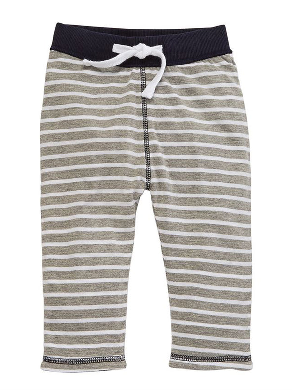 Infant Blue Pull-On Reversible Pants