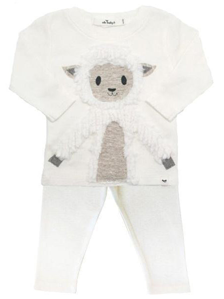 Oh Baby! Lamby Lamb Two Piece Set