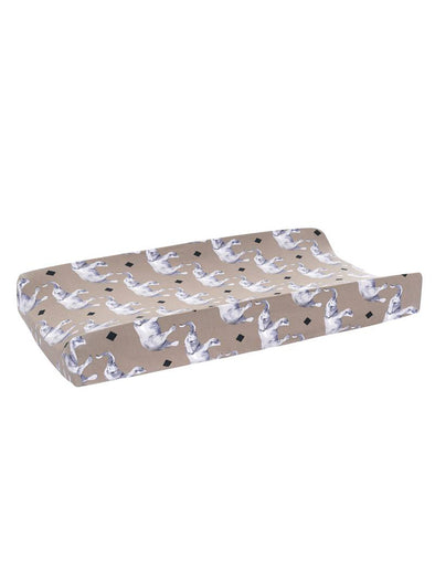 Posh Peanut Rocco Elephant Changing Pad Cover