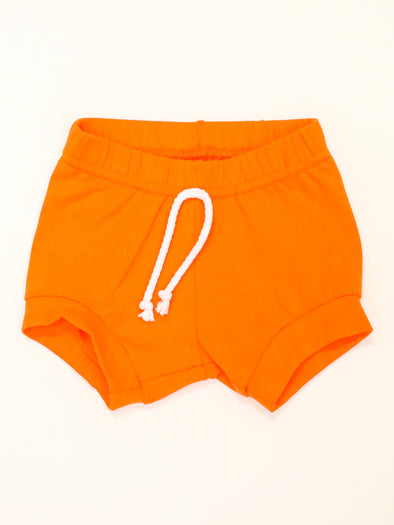 Cotton Orange Shorts