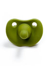 Three Hearts Sili Soother (Round) - Army Green