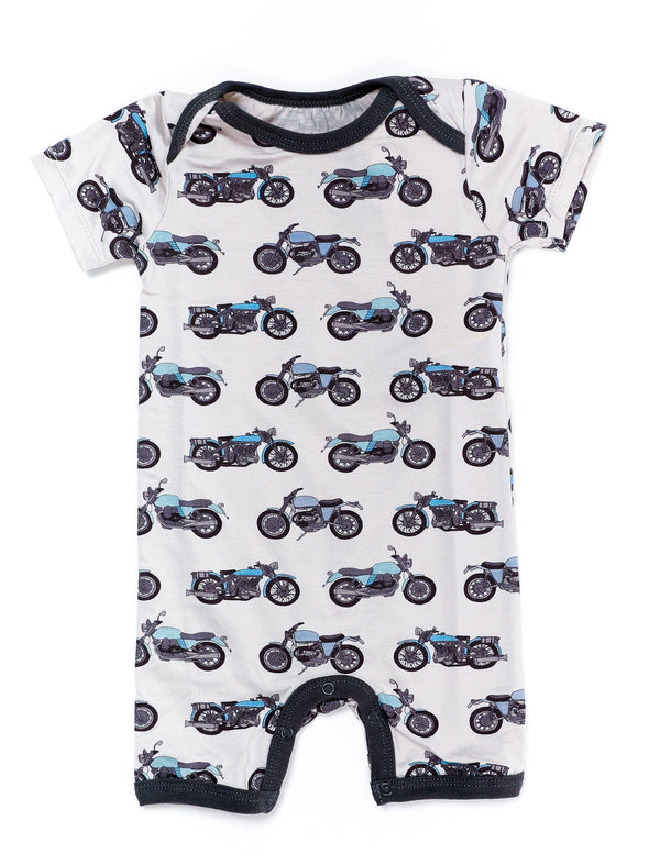 Motorcycle Short Romper