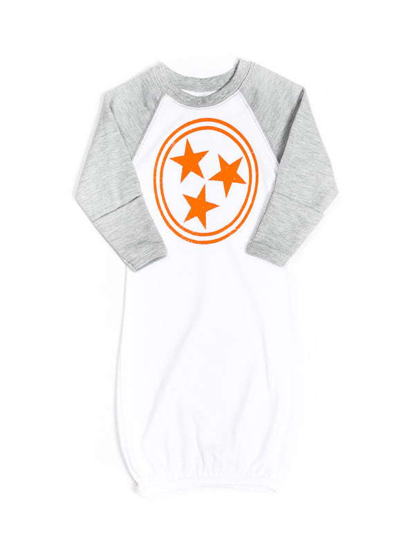 Tri Star Baby Gown