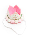Third Birthday Crown Headband