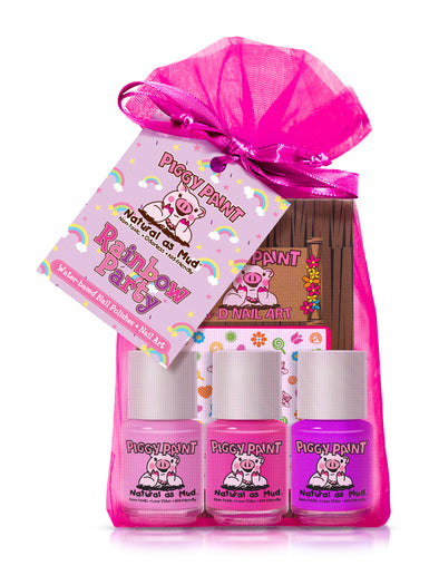 Rainbow Party Kit Piggy Paint