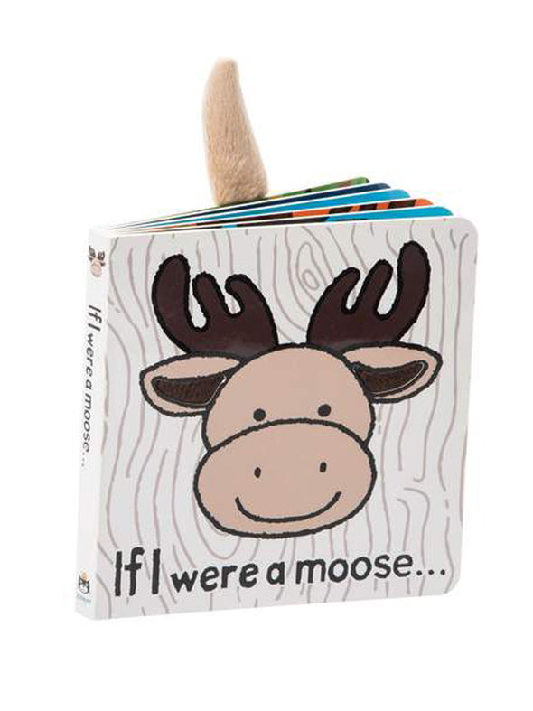 Jellycat If I Were a Moose Book (Woods)