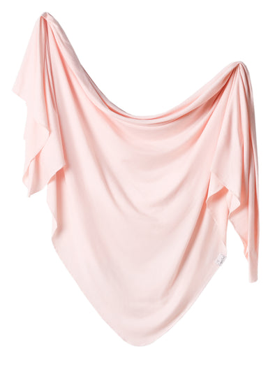 Copper Pearl Blush Swaddle Blanket