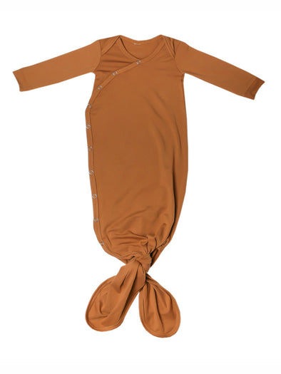 Copper Pearl Camel Knotted Gown