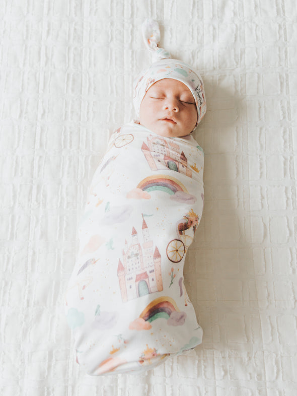 Copper Pearl Enchanted Swaddle Blanket