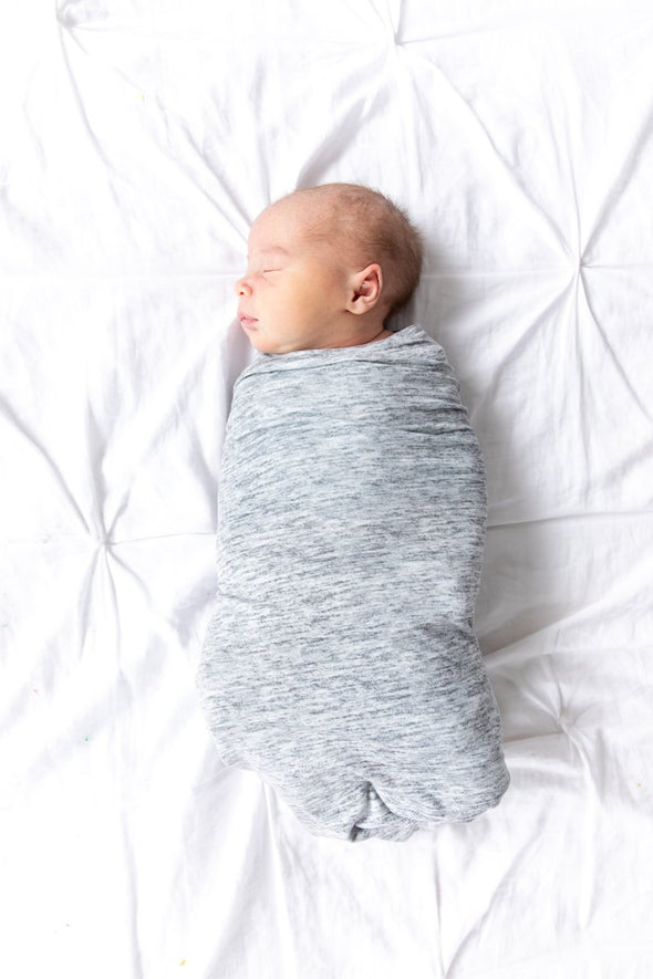 Copper Pearl Asher Swaddle Blanket