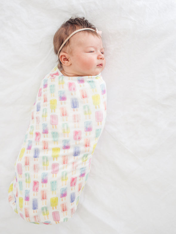 Copper Pearl Summer Swaddle Blanket