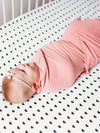Copper Pearl Darling Swaddle Blanket