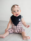 Copper Pearl Black Basics Bandana Bibs