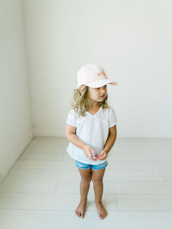 Cash & Co Blushing Rainbow Hat