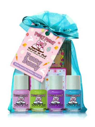 Funny Bunny Piggy Paint Gift Set