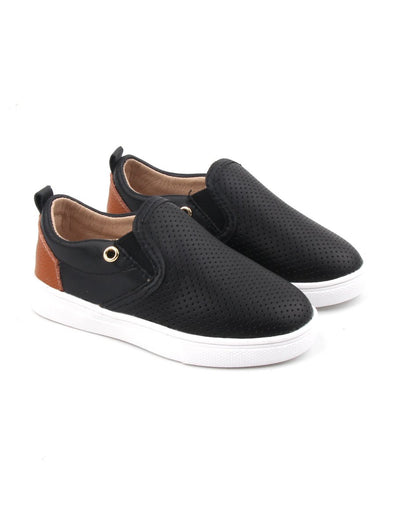 Black Quinn Slip On