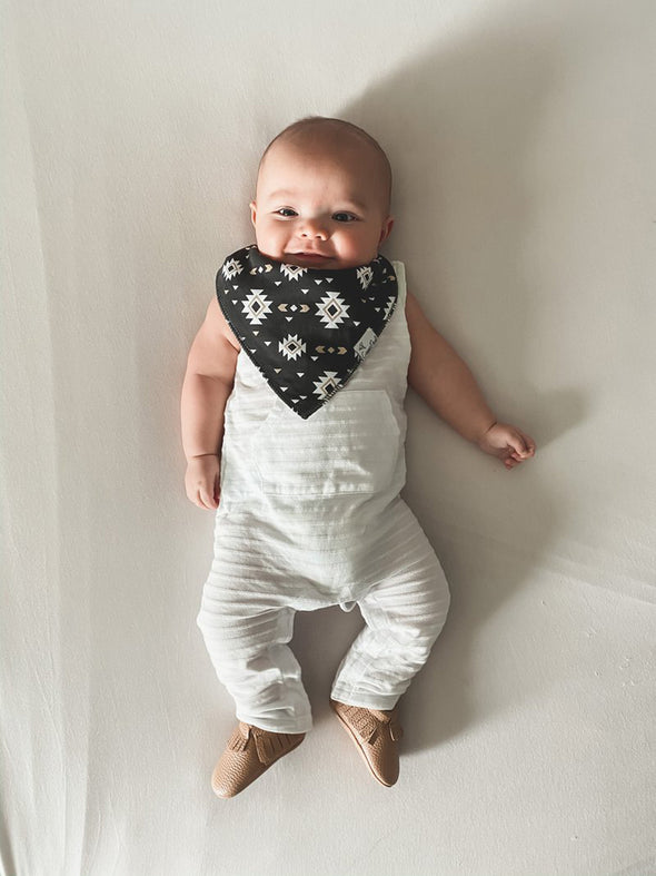 Copper Pearl Cusco Bandana Bib Set