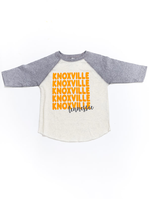 Knoxville x 5 Tennessee Raglan Tee