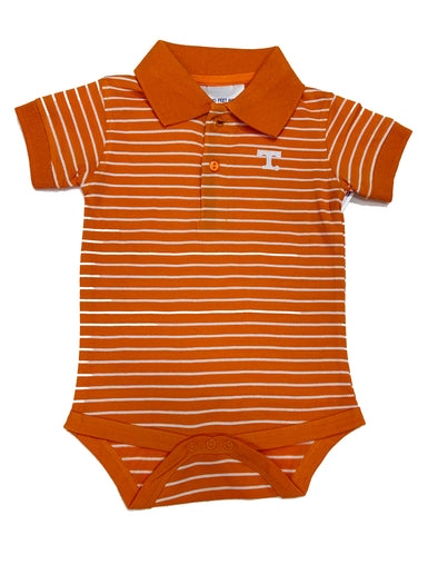 TN Stripe Jersey Golf Shirt Bodysuit