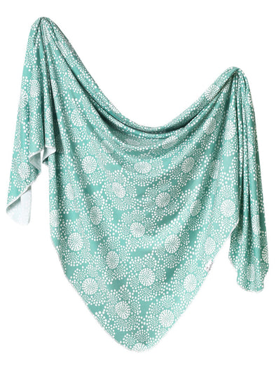 Copper Pearl Jane Swaddle Blanket