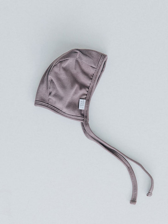 Mebie Baby Ribbed Bonnet