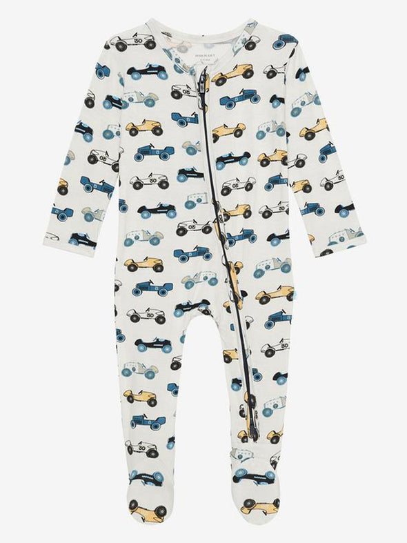 Posh Peanut Enzo Zippered Footie