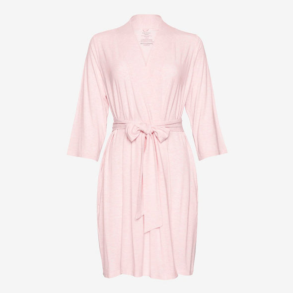 Posh Peanut Pink Heather Robe
