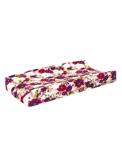 Posh Peanut Gracie Floral Changing Pad Cover