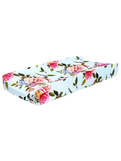 Posh Peanut Country Rose Changing Pad Cover