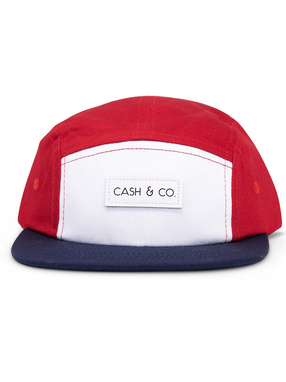 Cash & Co Americana Flat Bill Hat