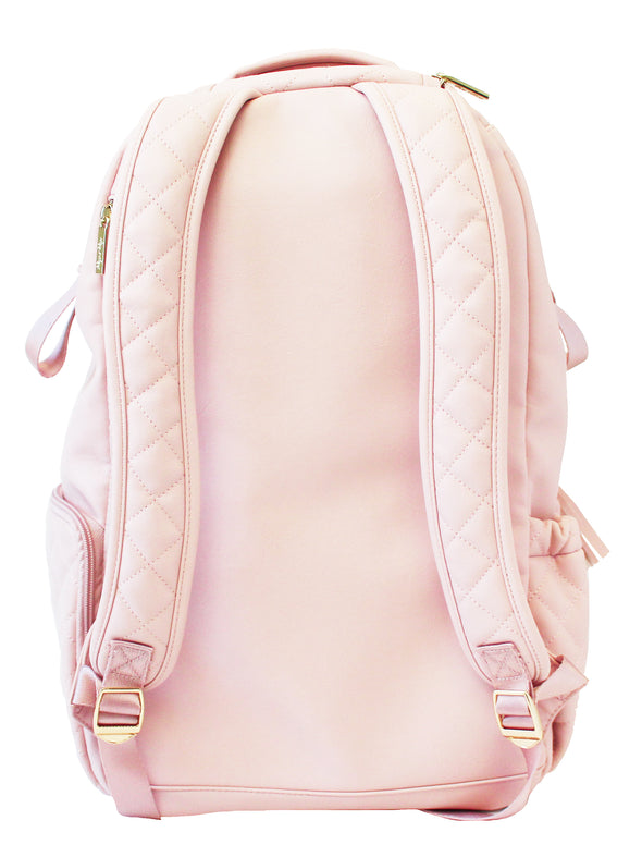 Itzy Ritzy Blush Crush Boss Diaper Bag Backpack
