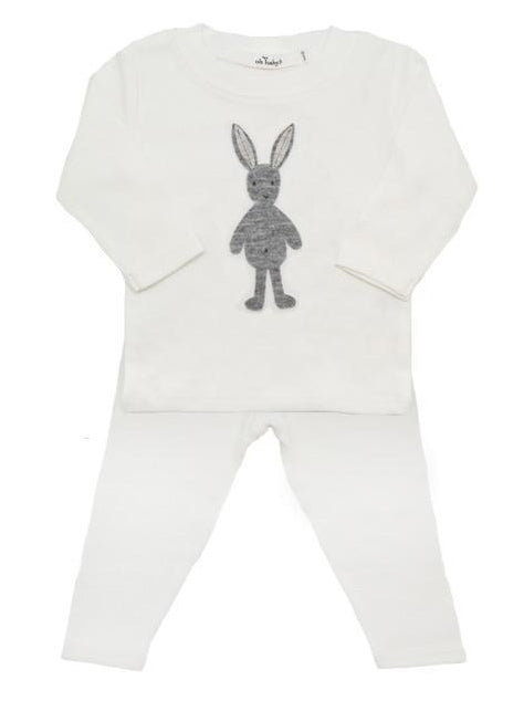 Oh Baby! Rag Doll Bunny Two Piece Set