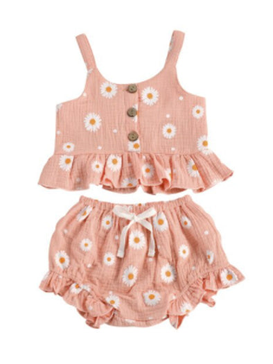 Daisy Baby Two Piece Set