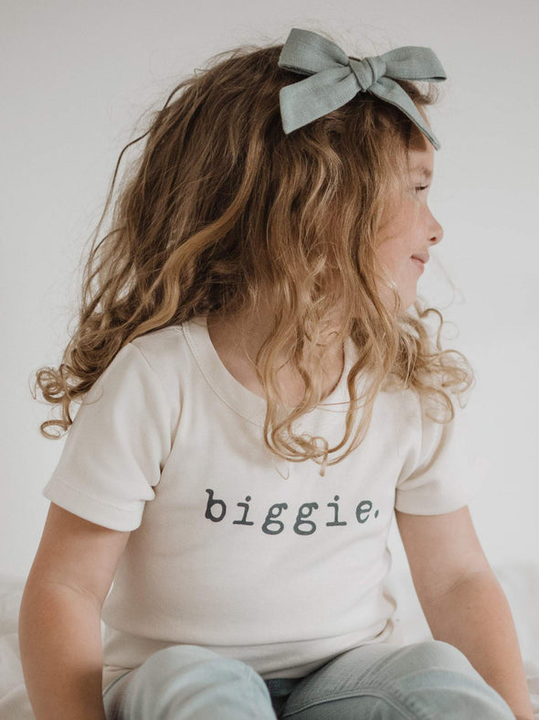 Finn + Emma Biggie Graphic Tee