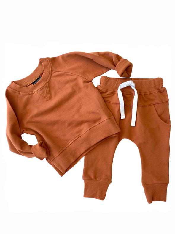 Little Bipsy Pullover - Rust
