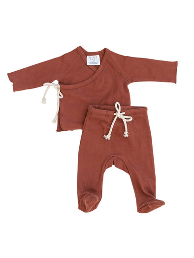 Mebie Baby Brick Layette Set
