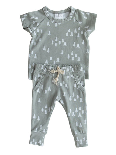 Mebie Baby Pines Two-Piece Spring Set