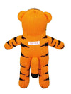 "Zubels Kai the Tiger 7"" Knit Rattle Doll"