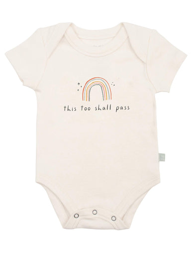 Finn + Emma This Too Shall Pass Graphic Bodysuit