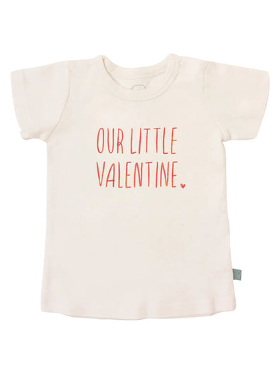 Finn + Emma Our Little Valentine Tee